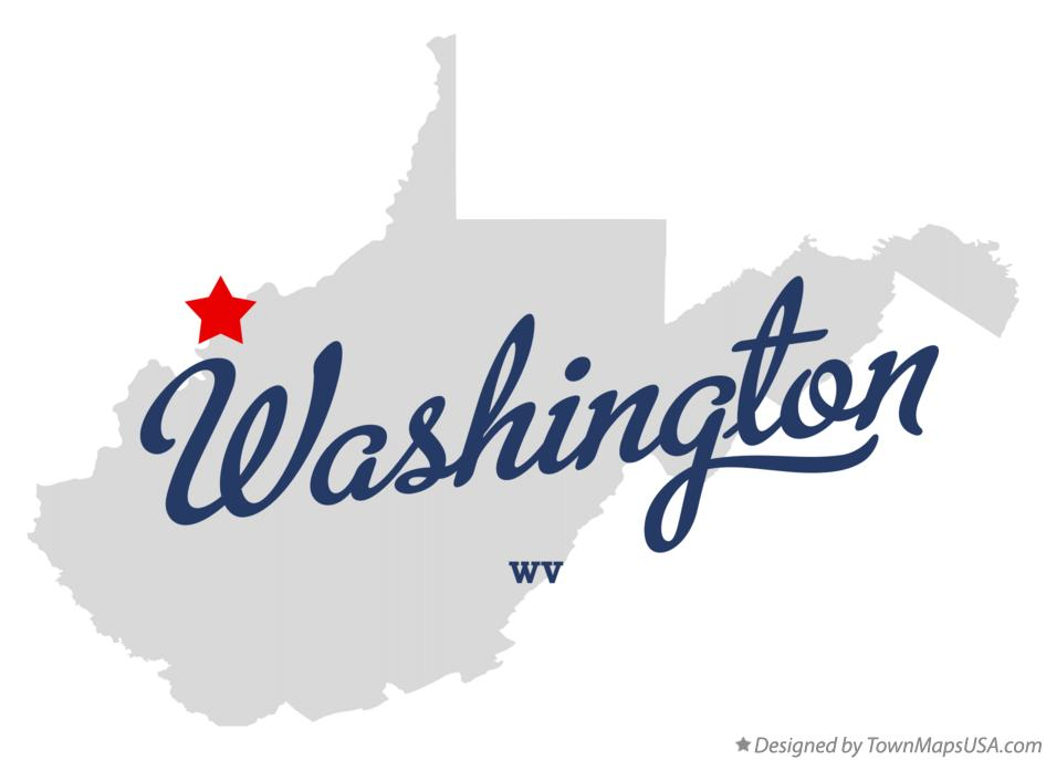 Map of Washington West Virginia WV