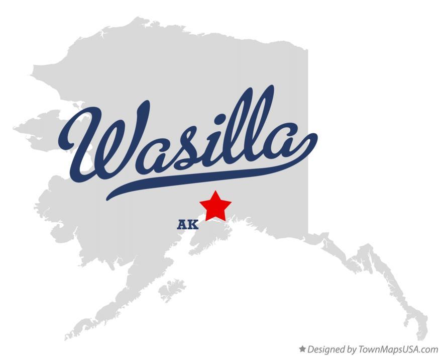 Wasilla Alaska Map Map of Wasilla Alaska ak