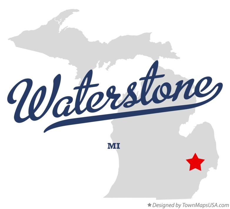 Map of Waterstone Michigan MI