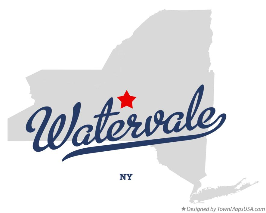 Map of Watervale New York NY