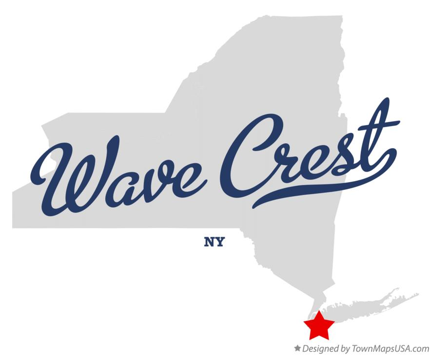 Map of Wave Crest New York NY