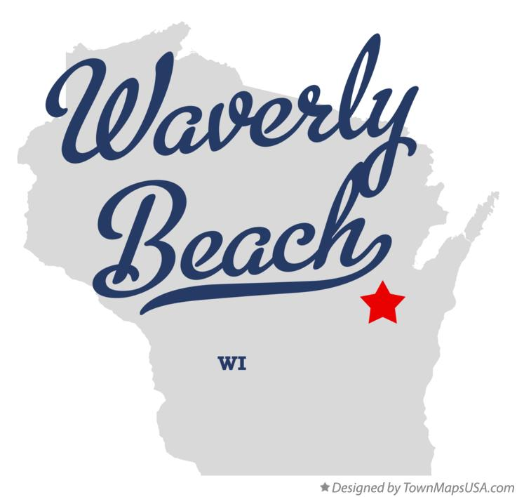 Map of Waverly Beach Wisconsin WI