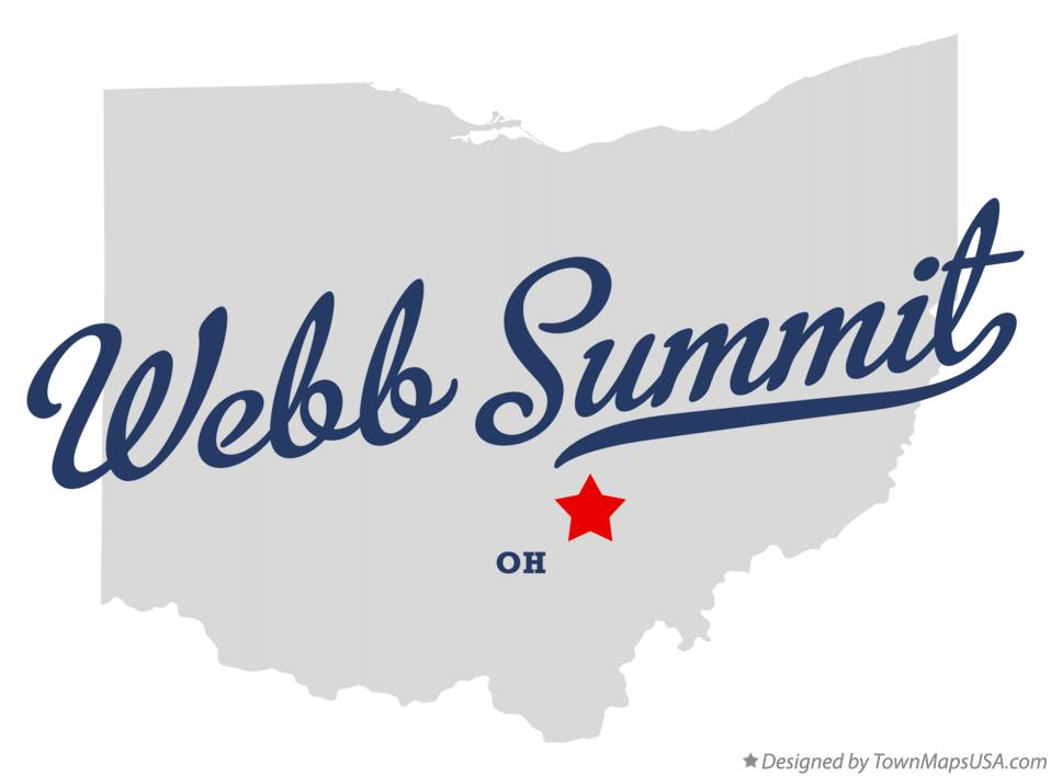 Map of Webb Summit Ohio OH