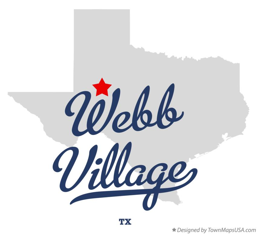 Map of Webb Village Texas TX