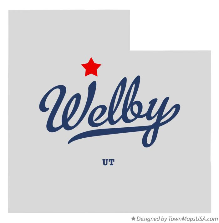 Map of Welby Utah UT