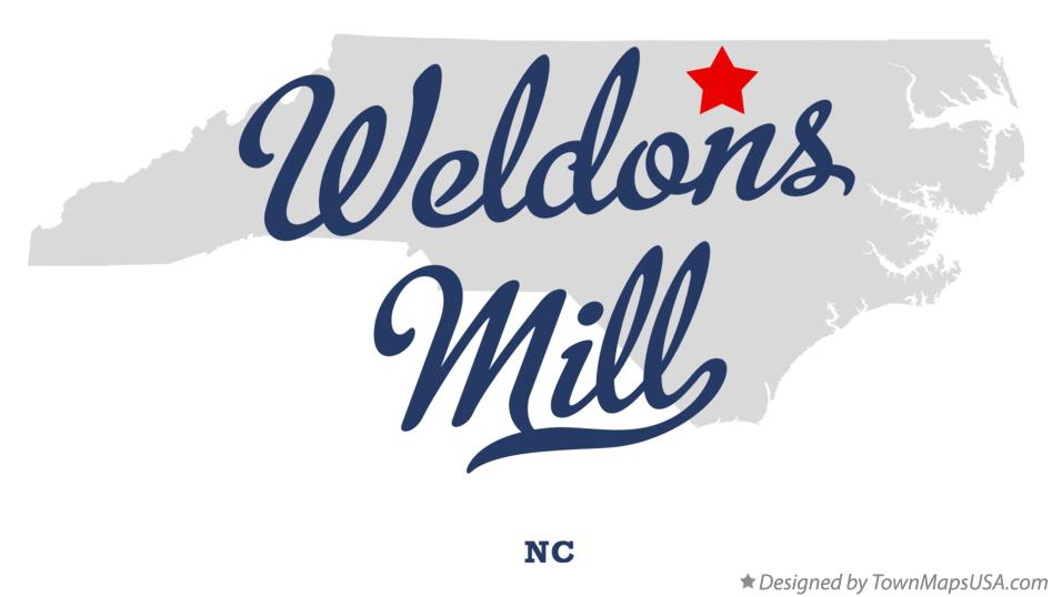 Map of Weldons Mill North Carolina NC