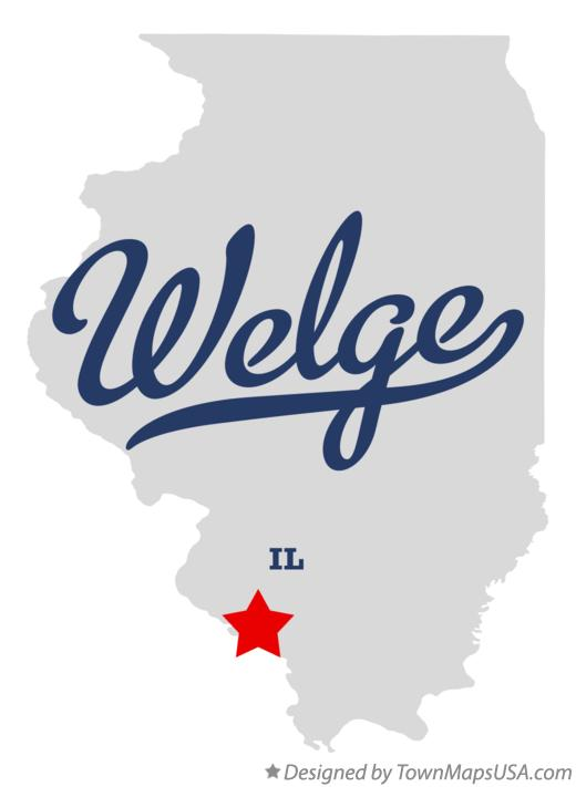 Map of Welge Illinois IL