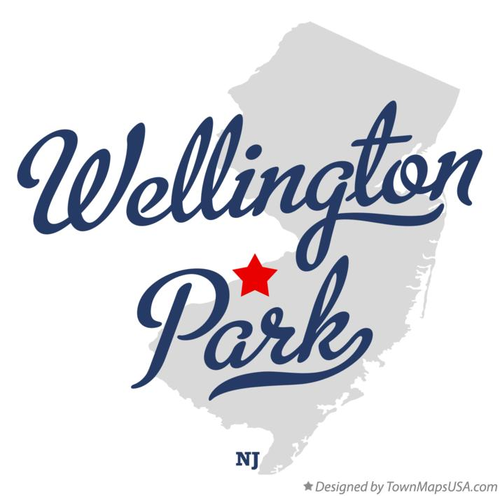 Map of Wellington Park New Jersey NJ