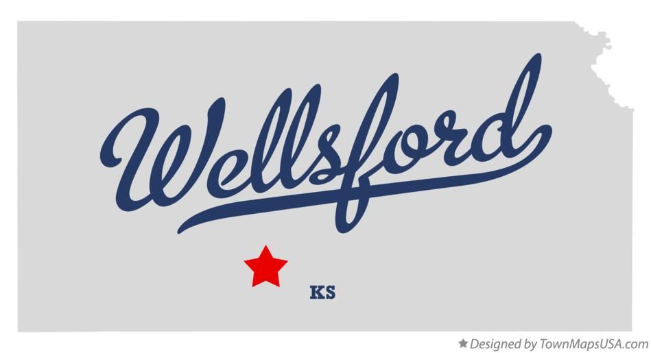 Map of Wellsford Kansas KS