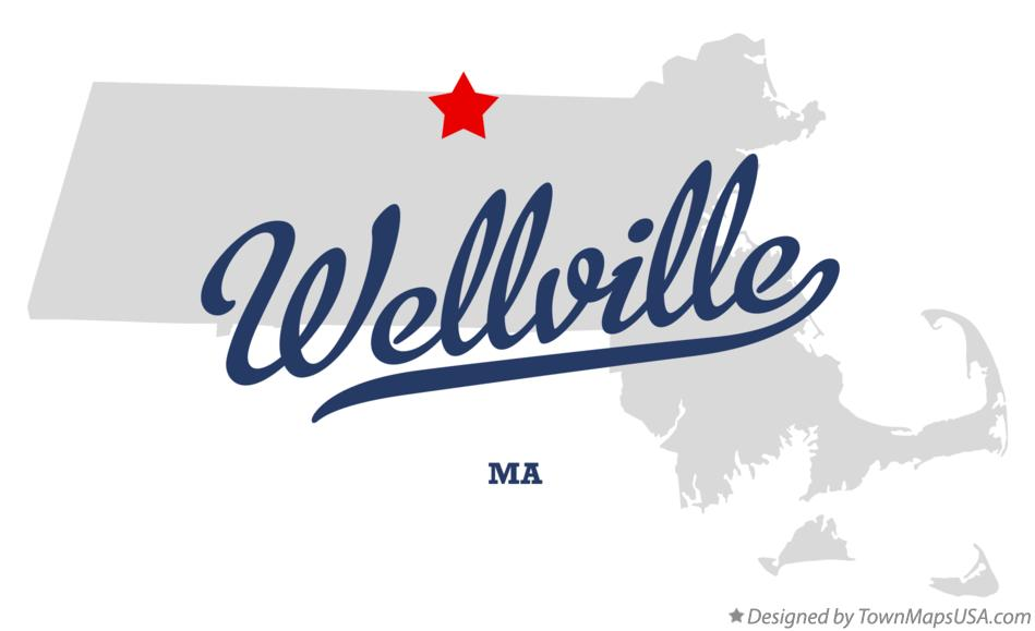 Map of Wellville Massachusetts MA