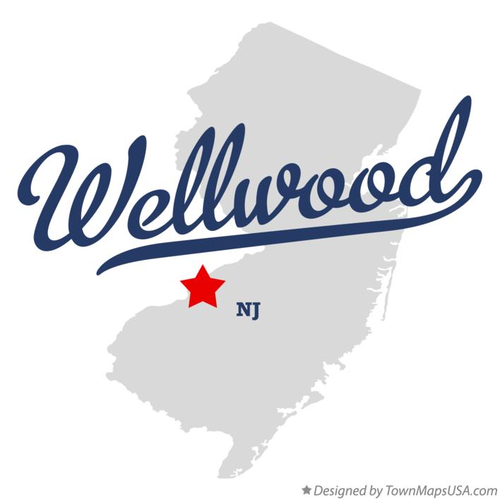 Map of Wellwood New Jersey NJ
