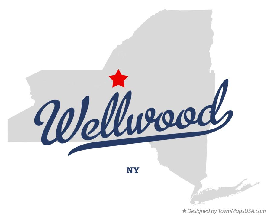 Map of Wellwood New York NY