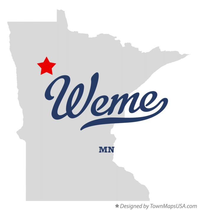 Map Of Weme Mn Minnesota A limited edition b version was released in stores on september 12. townmapsusa com