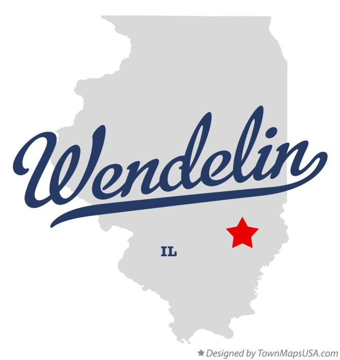 Map of Wendelin Illinois IL
