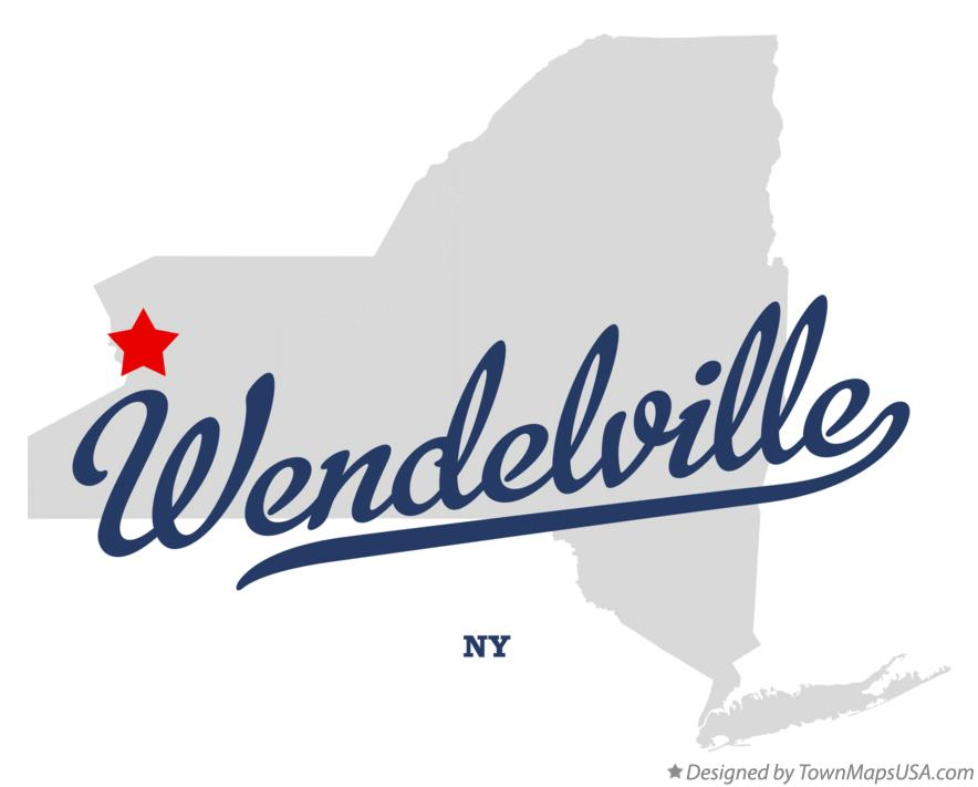 Map of Wendelville New York NY