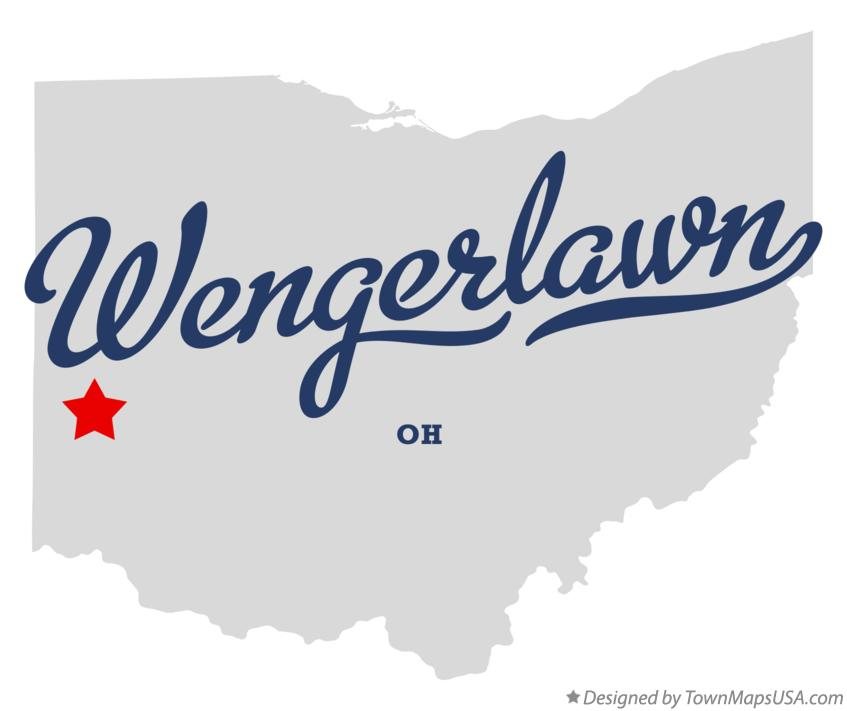 Map of Wengerlawn Ohio OH