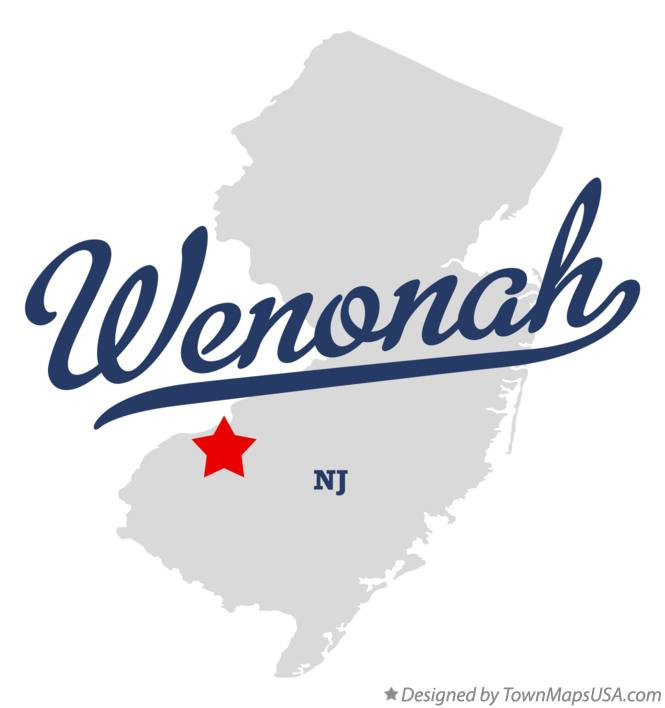 Map of Wenonah New Jersey NJ