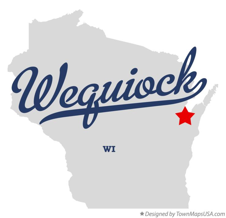Map of Wequiock Wisconsin WI