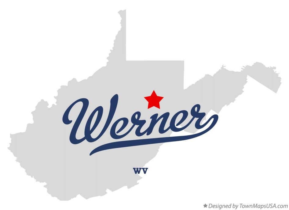 Map of Werner West Virginia WV