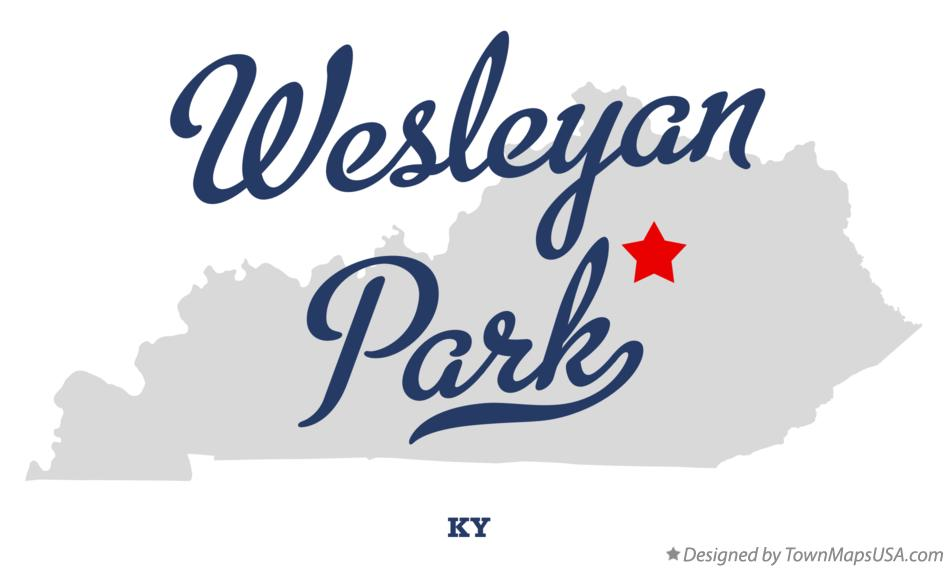 Map of Wesleyan Park Kentucky KY