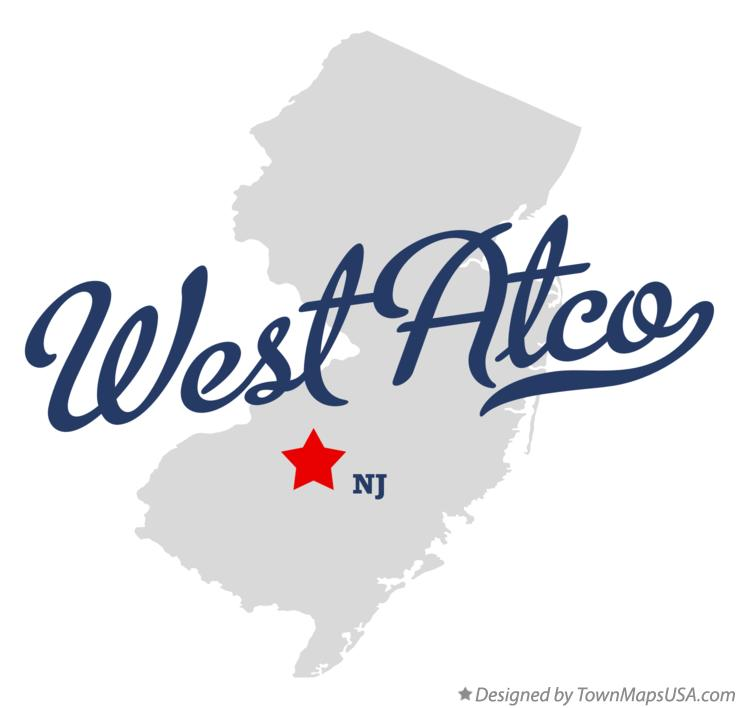 Map of West Atco New Jersey NJ