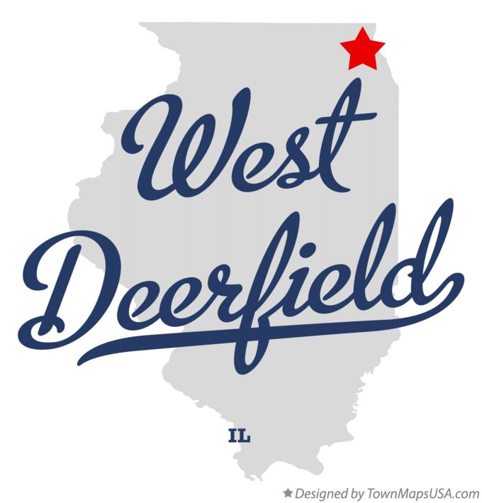 Map Of West Deerfield Il Illinois