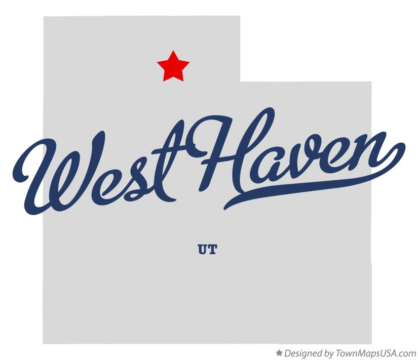 Map of West Haven Utah UT