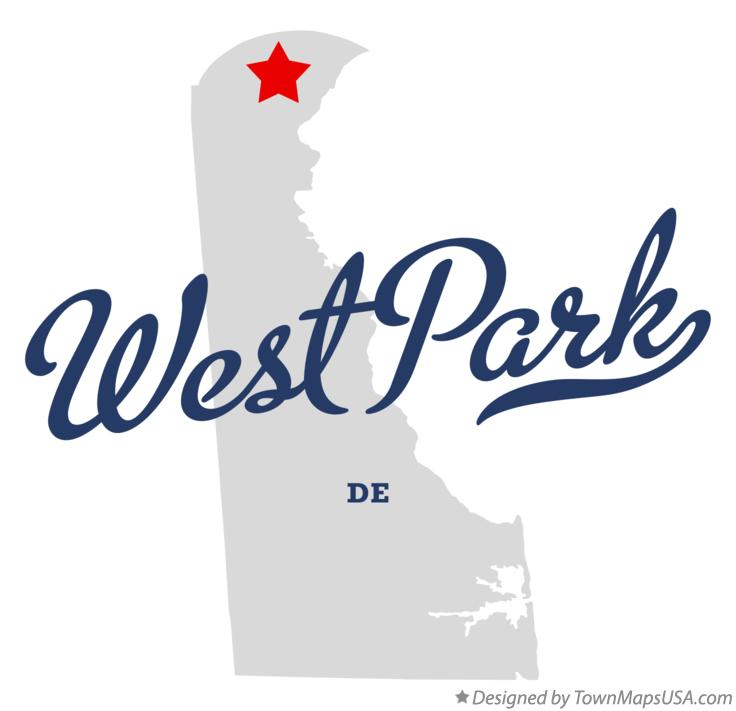 Map of West Park Delaware DE