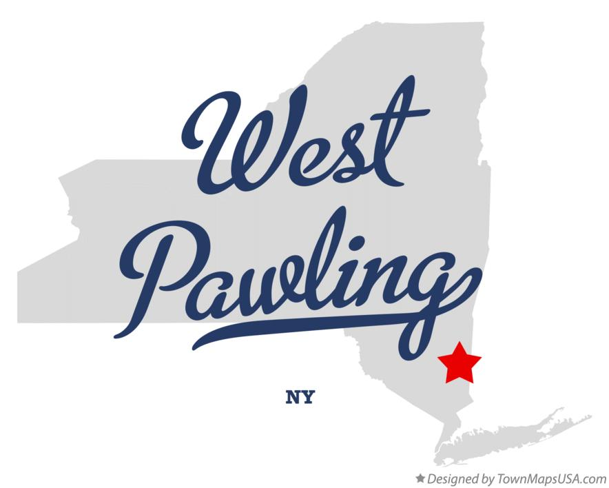 Map of West Pawling New York NY