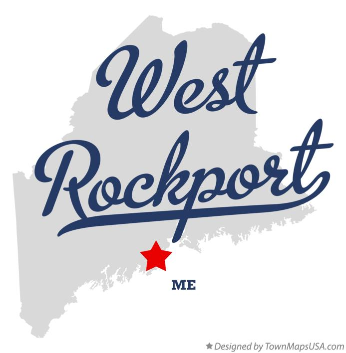 Map of West Rockport Maine ME