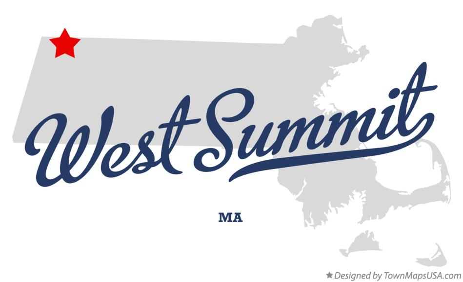 Map of West Summit Massachusetts MA