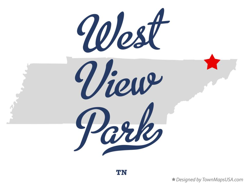 Map of West View Park Tennessee TN