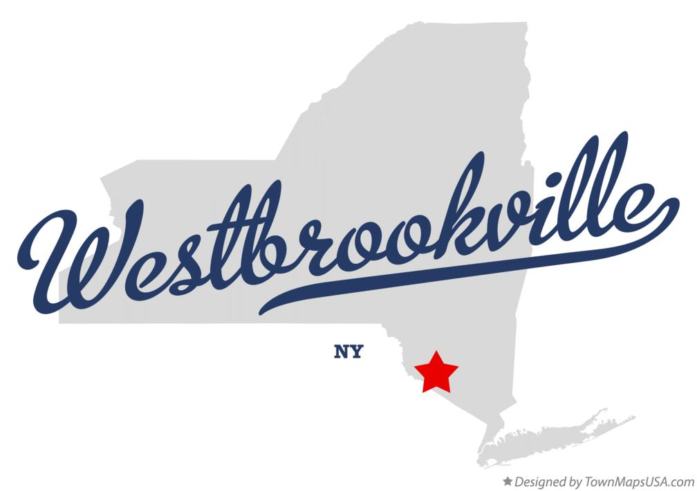 Map of Westbrookville New York NY