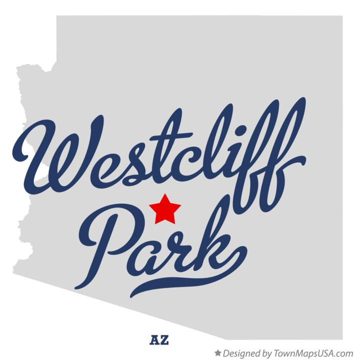 Map of Westcliff Park Arizona AZ