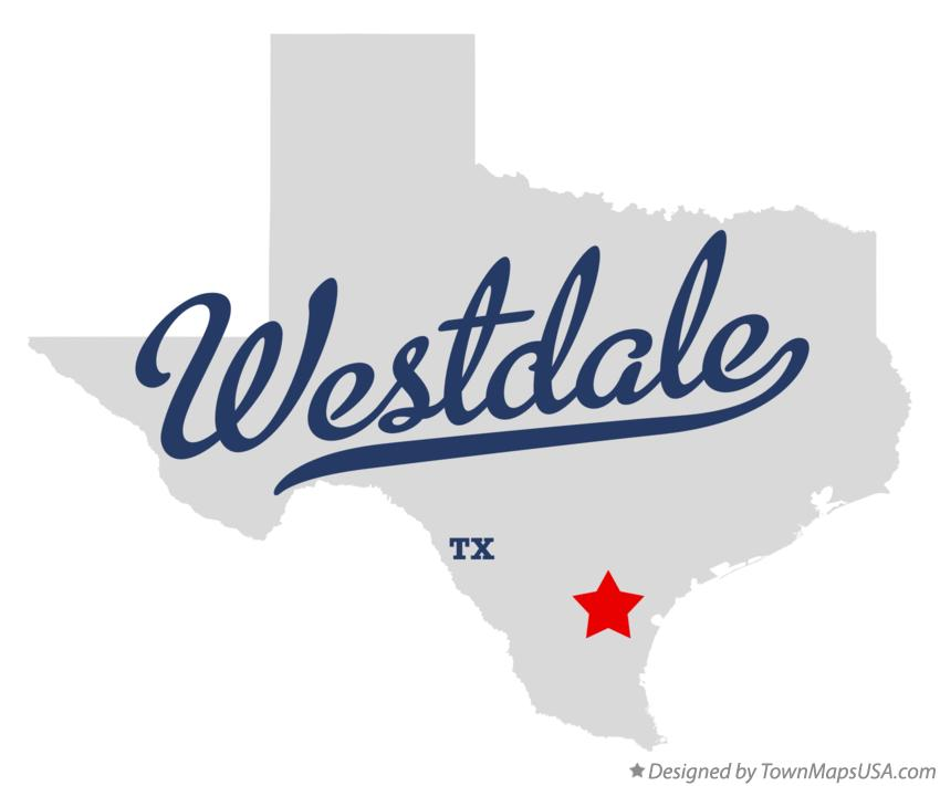 Map of Westdale Texas TX