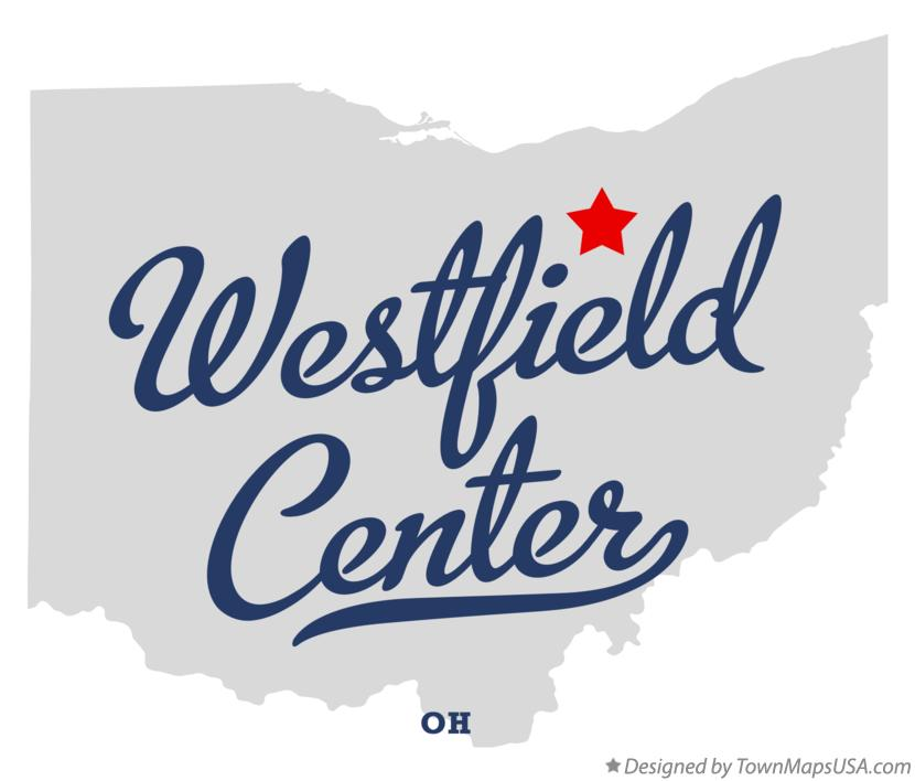 Map of Westfield Center Ohio OH