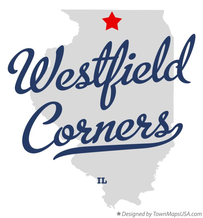 Map of Westfield Corners Illinois IL