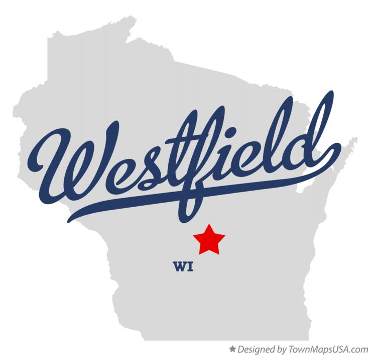 Map of Westfield Wisconsin WI