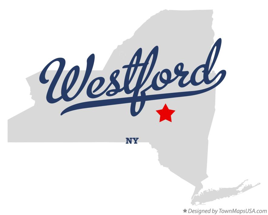Map of Westford New York NY