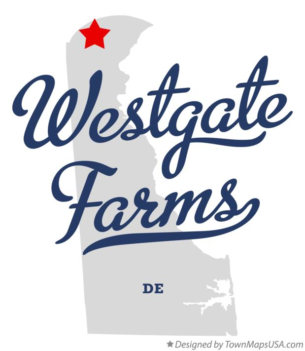 Map of Westgate Farms Delaware DE