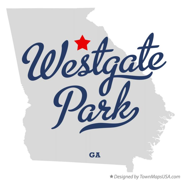 Map of Westgate Park Georgia GA