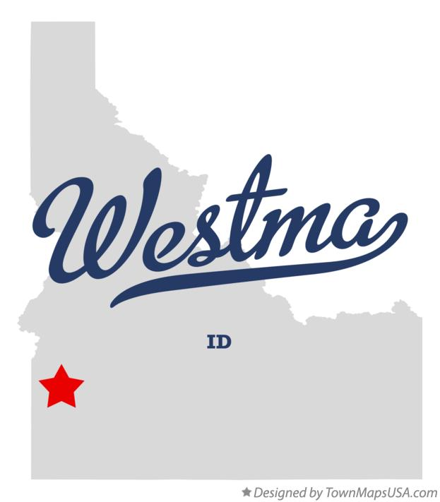 Map of Westma Idaho ID