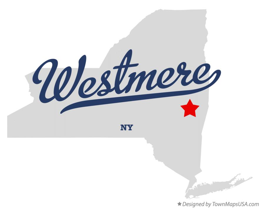 Map of Westmere New York NY