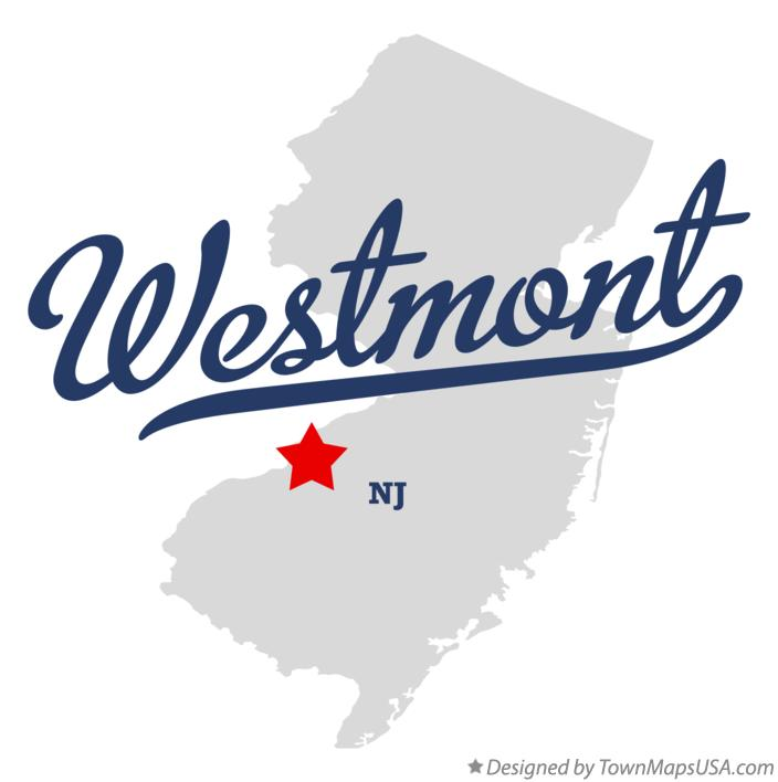 Map of Westmont New Jersey NJ