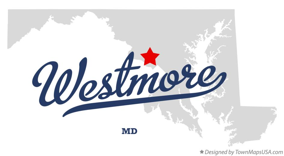Map of Westmore Maryland MD