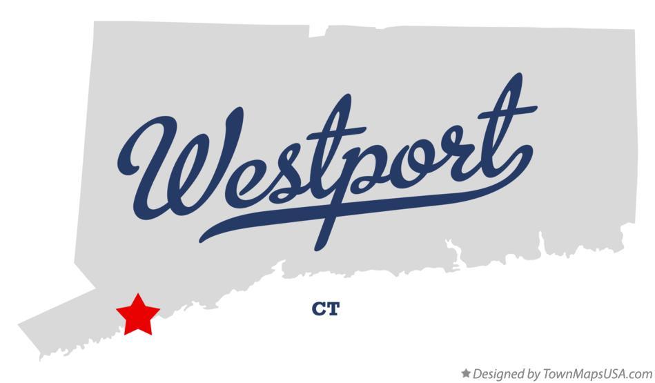 Westport Connecticut Map of Westport Connecticut ct