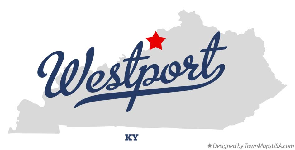 Map of Westport Kentucky KY