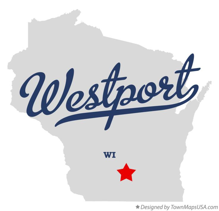 Map of Westport Wisconsin WI