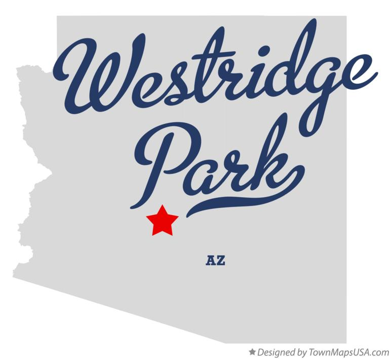 Map of Westridge Park Arizona AZ
