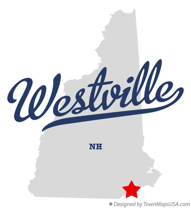 Map of Westville New Hampshire NH